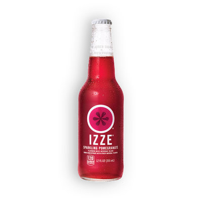 Izze® Bottled Sparkling Juice Pomegranate