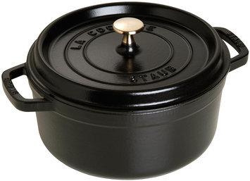 Staub Round Cocotte - 5.5 qt. - Black Matte