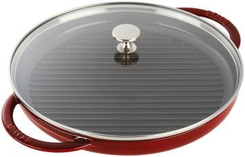 Staub Cast Iron 12 inch Steam Grill - Grenadine