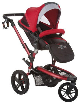 Jane Usa Jane Trider Extreme All-Terrain Stroller - Deep Red