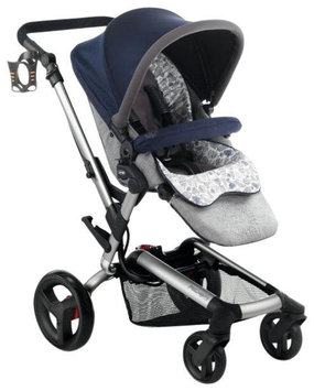 Jane Usa Jane Rider Anodized Aluminum Stroller - Blue Moon