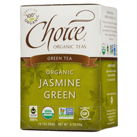 Choice Organic Teas Jasmine Green Green Tea