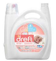 Dreft Stage1 Newborn Liquid Laundry Detergent High Efficiency