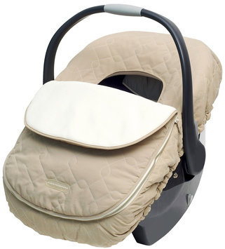 JJ Cole Baby Car Seat Cover Khaki