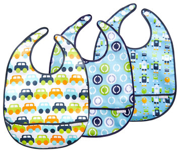 JJ Cole 3 Pack Bib Boy Set