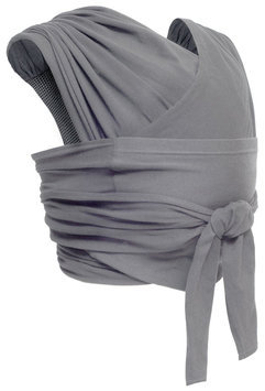 JJ Cole Agility Stretch Wrap Carrier - Gray (X-Large)