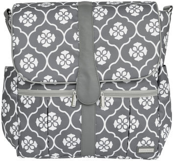 Jj Cole Collections JJ Cole Backpack Diaper Bag in Grey Floret