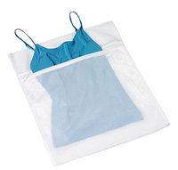 Honey Can Do LBG-01145 Mesh Lingerie Wash Bag, White