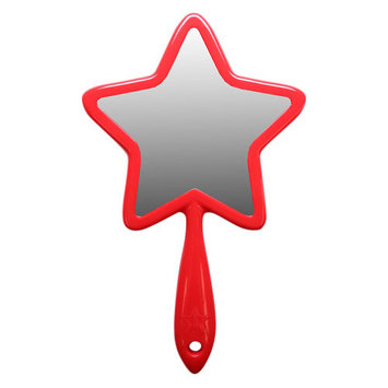JEFFREE STAR COSMETICS Hand Held Mirror Red Star