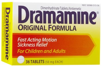 Dramamine Original Formula Tablets, 36 ea