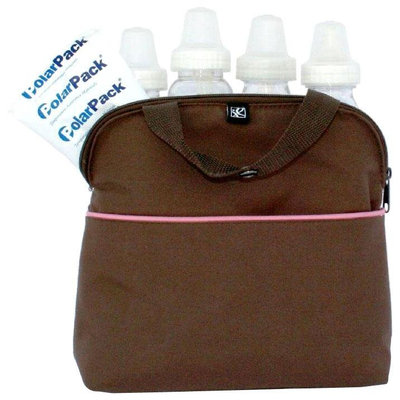 J.l. Childress Co., JL Childress MaxiCOOL 4 Bottle Cooler Cocoa, Pink For Baby