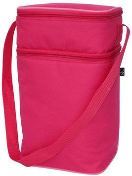 J L Childress 6 Bottle Cooler - Pink/Light Pink