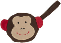 J L Childress Pacifier Pal Pacifier Pocket - Monkey - 1 ct.