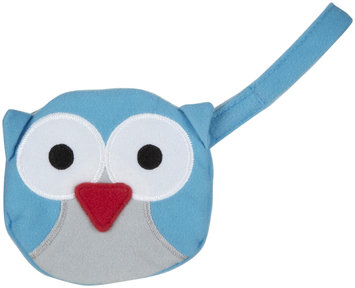 J L Childress Pacifier Pal Pacifier Pocket - Teal Owl - 1 ct.