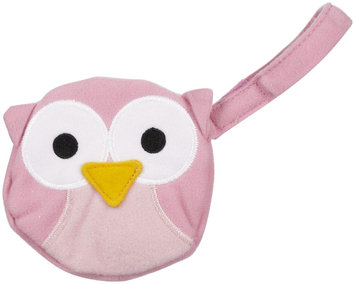 J L Childress Pacifier Pal Pacifier Pocket - Pink Owl - 1 ct.