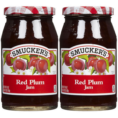 Smucker's Red Plum Jam, 18 oz, 2 pk