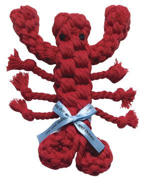 Jax & Bones Jax and Bones Good Karma Rope Toys Louie the Lobster