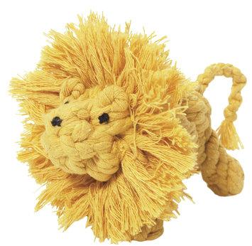 Jax and Bones Good Karma Rope Toys Larry the Lion