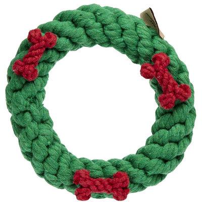 Jax & Bones Jax and Bones Good Karma Rope Toys Holiday Ring