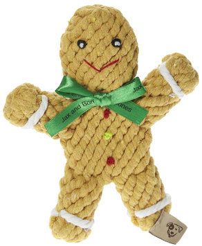Jax & Bones Jax and Bones Good Karma Rope Toys George the Gingerbread Man