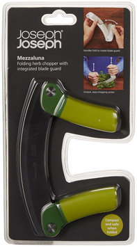 Joseph Joseph - Mezzaluna Folding Herb Chopper - Green/Dark Green
