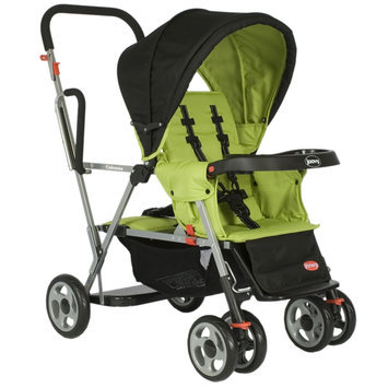 Joovy Caboose Stand-On Tandem Stroller - Lemontree