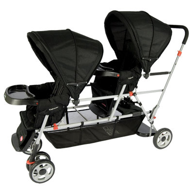 Joovy - Big Caboose Stand-On Triple Stroller, Black