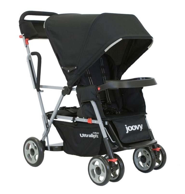 Joovy Caboose Ultralight Tandem Stroller - Black - 1 ct.