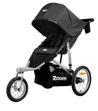Joovy Zoom 360 Jogging Stroller - Black - 1 ct.