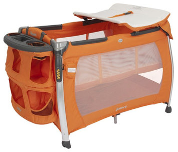 Joovy Room Playard with Bassinet & Changing Table - Orangie
