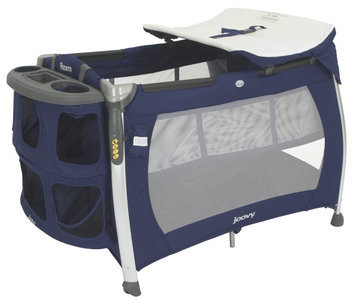 Joovy Room Playard with Bassinet & Changing Table - Blueberry - 1 ct.