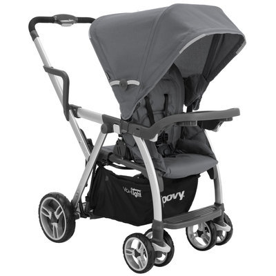 Joovy Caboose VaryLight Stand-On Tandem Stroller (Charcoal)
