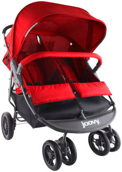 Joovy Scooter X2 Double Stroller - Red - 1 ct.