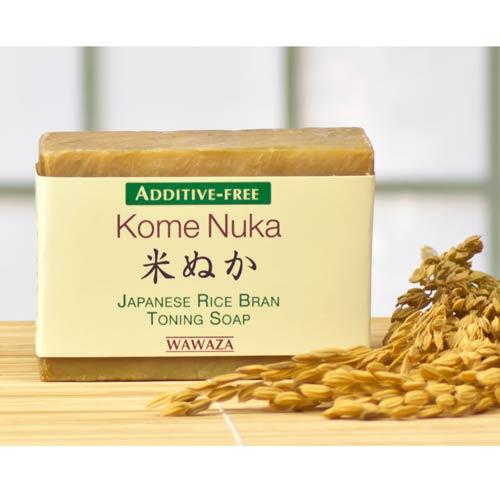 WAWAZA Japanese Rice Bran Toning Soap