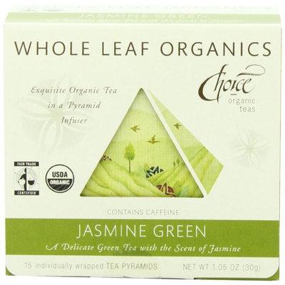 Choice Organic Teas Whole Leaf Organics Jasmine Green Tea
