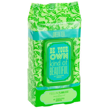 Jean Pierre Be Your OWN Type of Beautiful Green Tea 60-count Facial Towelettes