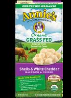 Annie's®  Homegrown Organic Grass Fed Shells & White Cheddar Macaroni & Cheese