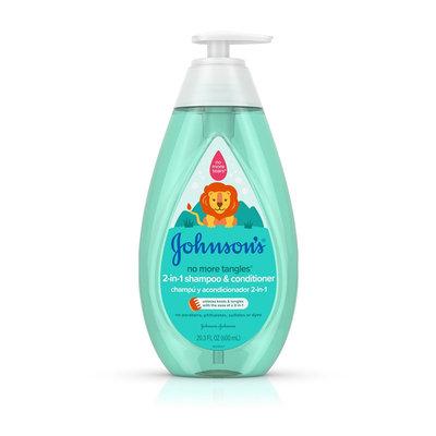 Johnson's® No More Tangles® 2-in-1 Shampoo & Conditioner