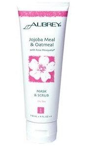 Aubrey Organics Jojoba Meal & Oatmeal with Rosa Mosqueta® Mask & Scrub