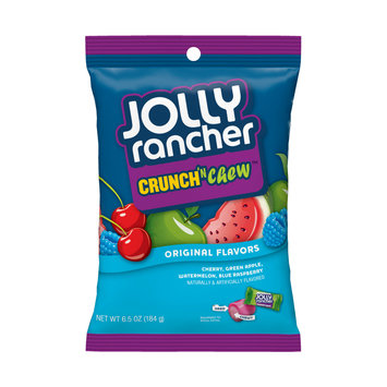 Jolly Rancher Crunch'n Chew Original Flavors Candy
