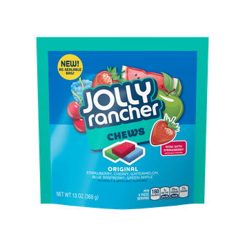 Jolly Rancher Fruit Chews Candy Assorted Flavors