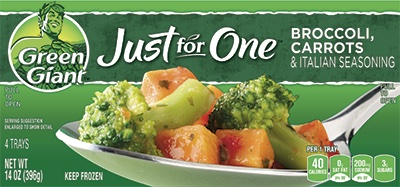 Green Giant® Just For One® Broccoli, Carrots & Italian Seasoning