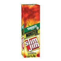 Slim Jim Tabasco Monster Meat Sticks