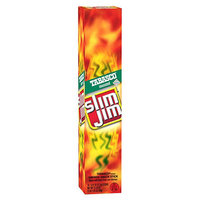 Slim Jim Giant Meat Slim Tabasco Sticks