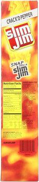 Slim Jim Giant Meat Cracked Pepper Smoked Sticks