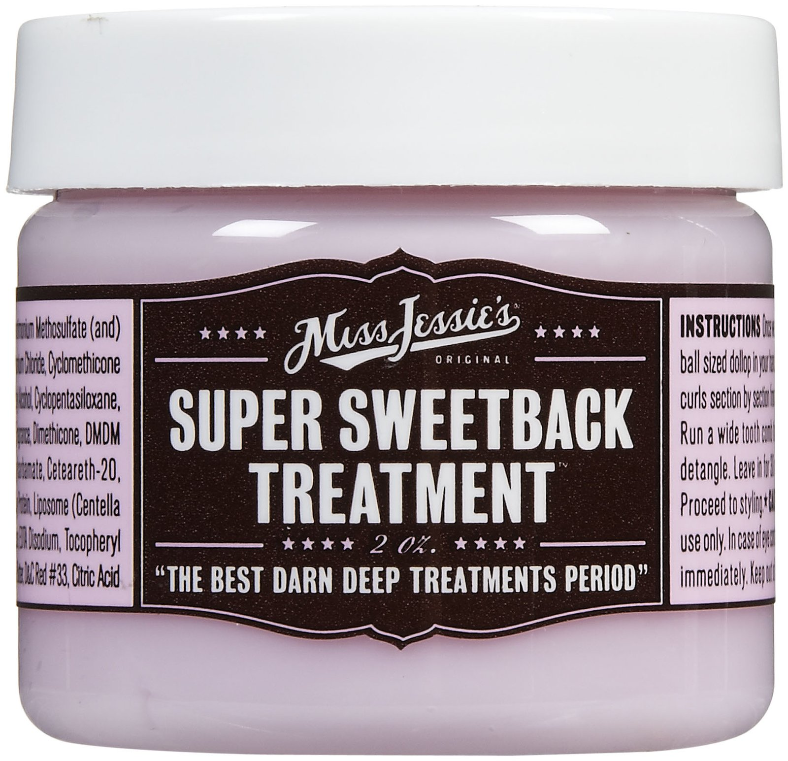 Miss Jessie's Super Sweetback Treatment