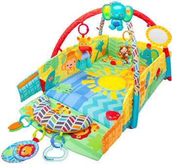 Bright Starts Sunny Safari Baby's Play Place - 1 ct.