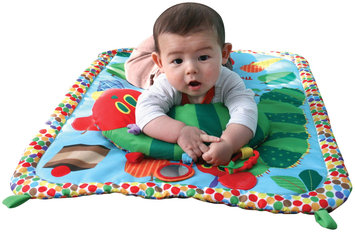 Kids Preferred The World Of Eric Carle Caterpillar Tummy Time Playmat and Pillow