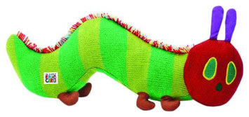 The World Of Eric Carle The Very Hungry Caterpillar Knit Toy