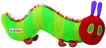 The World Of Eric Carle The Very Hungry Caterpillar Knit Bean Bag Toy